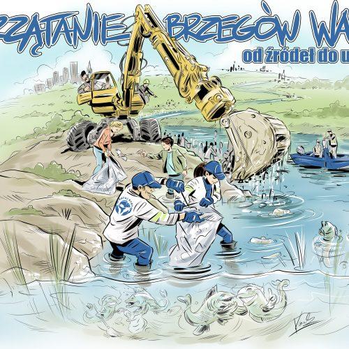 Uwolnij rzekę od śmieci – 24 kwietnia wielkie sprzątanie Warty!